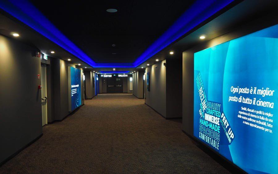 UCI Cinema corridoio sale