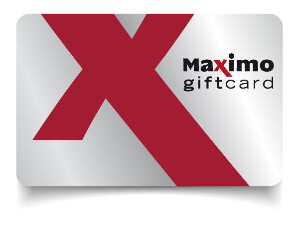 Maximo gift card