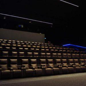 UCI Cinema Interno sala poltrone